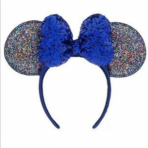 NEW WITH TAGS Disney's 2020 Blue Sparkley Ears